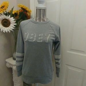 Obey No. 89 Gray Sweatshirt